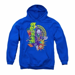 The Joker Youth Hoodie Raw Deal Royal Blue Kids Hoody