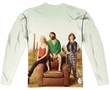 The Last Man On Earth Long Sleeve Cast Sublimation Shirt Front/Back Print