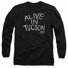 The Last Man On Earth Long Sleeve Shirt Alive In Tucson Black Tee T-Shirt