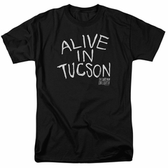The Last Man On Earth Shirt Alive In Tucson Black T-Shirt