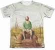 The Last Man On Earth Shirt Cast Poly/Cotton Sublimation Shirt Front/Back Print