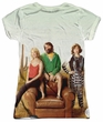The Last Man On Earth Shirt Cast Sublimation Juniors Shirt Front/Back Print