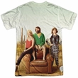 The Last Man On Earth Shirt Cast Sublimation Shirt Front/Back Print
