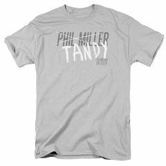 The Last Man On Earth Shirt Tandy Silver T-Shirt