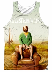 The Last Man On Earth Tank Top Cast Sublimation Tanktop