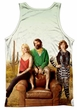 The Last Man On Earth Tank Top Cast Sublimation Tanktop Front/Back Print
