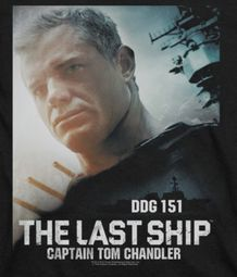 The Last Ship Captain Tom Shirts