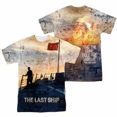 The Last Ship Shirt Sunset Sublimation Shirt Front/Back Print