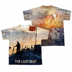 The Last Ship Shirt Sunset Sublimation Youth Shirt