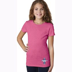 The Legend Lives Crest Bottom Print Kids Shirts