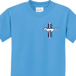 The Legend Lives Crest Pocket Print Kids Ford Shirts