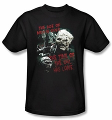 The Lord Of The Rings Kids T-Shirt Time Of The Orc Black Shirt Youth