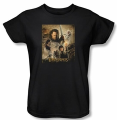 The Lord Of The Rings Ladies T-Shirt Return Of The King Tee