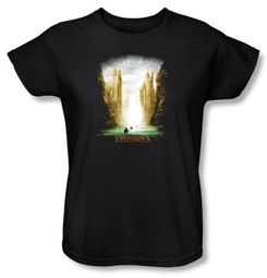 The Lord Of The Rings Ladies T-Shirt The Fellowship Of The Ring Shirt