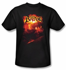 The Lord Of The Rings T-Shirt Balrog Adult Black Tee Shirt