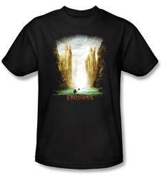 The Lord Of The Rings T-Shirt The Fellowship Of The Ring Poster Shirt