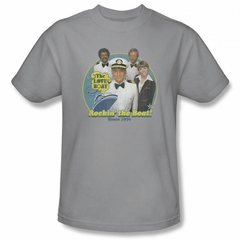 The Love Boat Shirt Rocking The Boat Silver T-Shirt