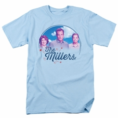 The Millers Shirt Cast Adult Light Blue Tee T-Shirt