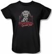 The Munsters Ladies T-shirt 100% Original Black Tee Shirt