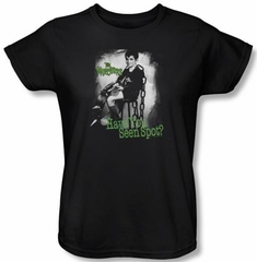 The Munsters Ladies T-shirt Have You Seen Spot Black Tee Shirt
