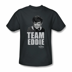 The Munsters Shirt Team Eddie Charcoal T-Shirt