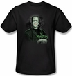The Munsters T-shirt Man Of The House Herman Adult Black Tee Shirt