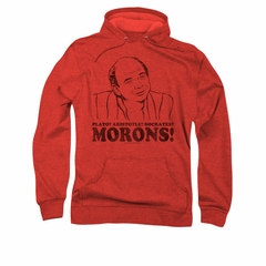The Princess Bride Hoodie Sweatshirt Morons Bride Red Adult Hoody Sweat Shirt