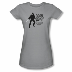 The Princess Bride Shirt Juniors Good Work Silver Tee T-Shirt