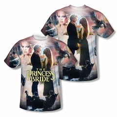 The Princess Bride Soft Collage Sublimation Shirt Front/Back Print