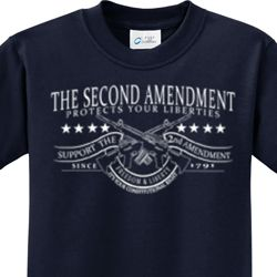 The Second Amendment Kids Shirts