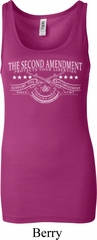 The Second Amendment Ladies Longer Length Tank Top