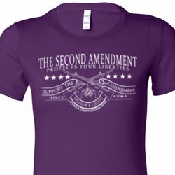 The Second Amendment Ladies Shirts