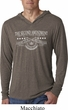 The Second Amendment Mens Lightweight Hooded Shirt