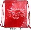 The Second Amendment Tie Dye Bag