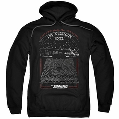 The Shining  Hoodie Overlook Hotel Black Sweatshirt Hoody