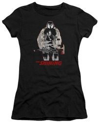 The Shining  Juniors Shirt Come Out Come Out Black T-Shirt
