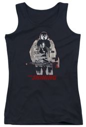 The Shining  Juniors Tank Top Come Out Come Out Black Tanktop
