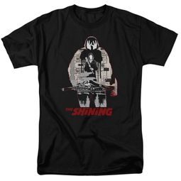 The Shining Shirt Come Out Come Out Black T-Shirt