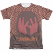 The Shining Shirt Hallway Poly/Cotton Sublimation Shirt Front/Back Print