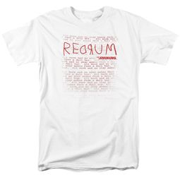 The Shining Shirt Redrum White T-Shirt