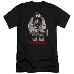 The Shining  Slim Fit Shirt Come Out Come Out Black T-Shirt