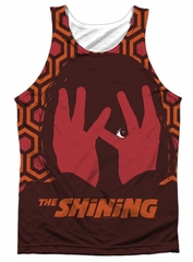 The Shining Tank Top Hallway Sublimation Tanktop Front/Back Print