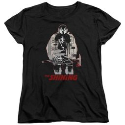 The Shining  Womens Shirt Come Out Come Out Black T-Shirt