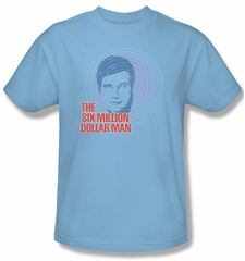 The Six Million Dollar Man Shirt I See You Adult Blue Tee T-Shirt
