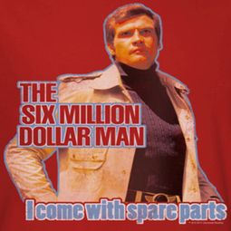 The Six Million Dollar Man Spare Pants Shirts