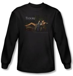 The Tudors Shirt The King And His Queen Black Long Sleeve T-Shirt Tee