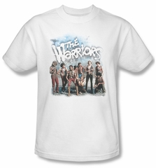 The Warriors Shirt Amusement Adult White Tee T-Shirt