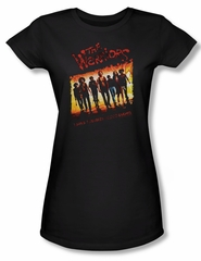 The Warriors Shirt Juniors One Gang Black Tee T-Shirt