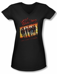 The Warriors Shirt Juniors V Neck One Gang Black Tee T-Shirt