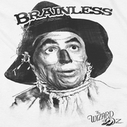 The Wizard Of Oz Brainless Scarecrow Shirts